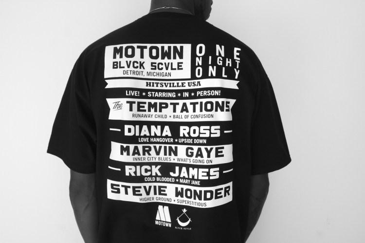 Motown Records x Black Scale Lookbook