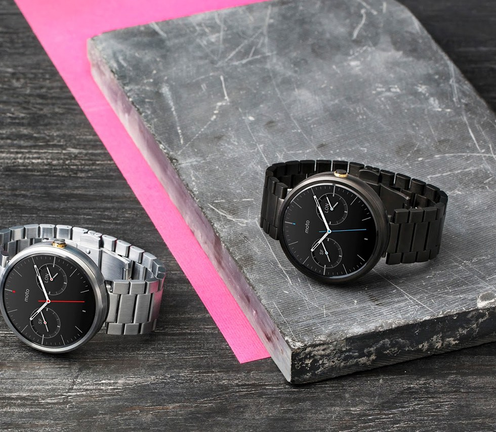 Moto 360 Adds New Options for Targeted Watch Customers