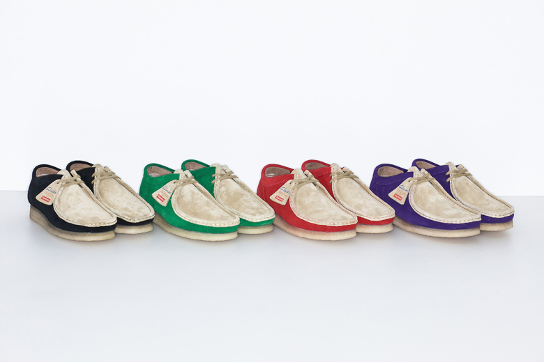 Supreme x Clarks 2015 Spring/Summer Wallabee Collection