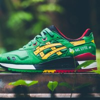 "ASICS Gel-Lyte III ""Carnival Pack - Green/Yellow"""