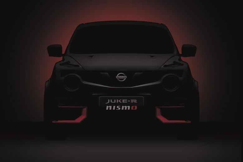 Nissan Teases The Juke-R NISMO