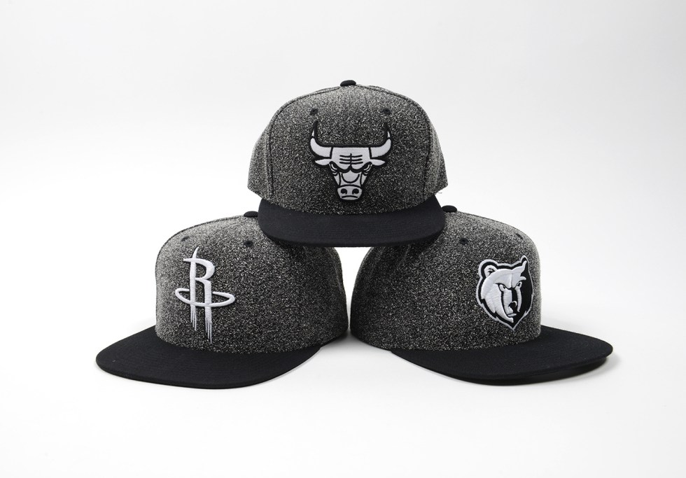 """Mitchell & Ness """"Static"""" and """"Boot Hook"""" NBA Snapback Caps"""