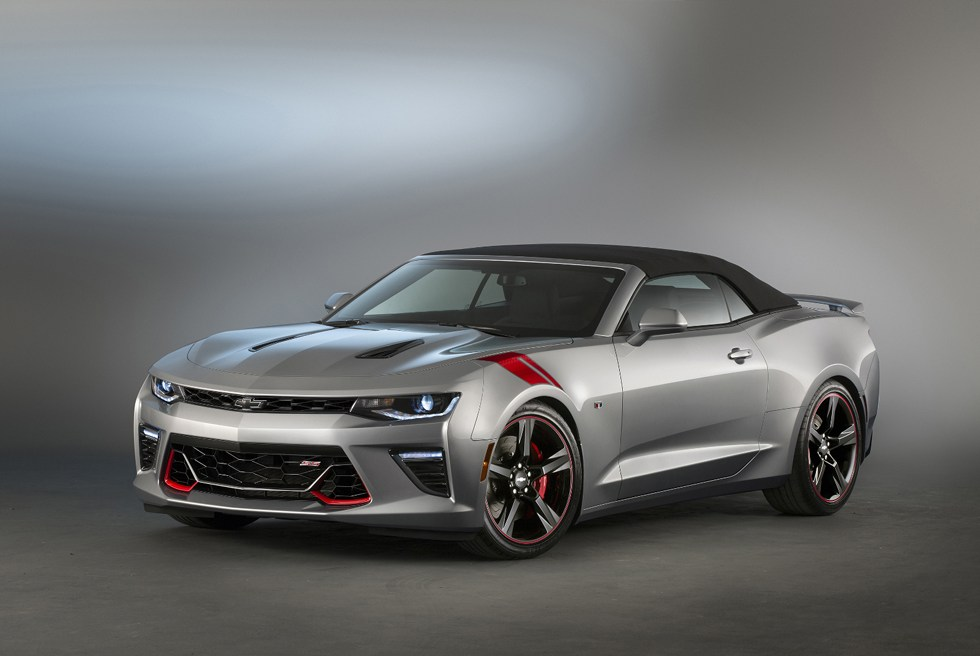 CHEVROLET DEBUTS TWO CAMARO SS CONCEPTS FOR SEMA