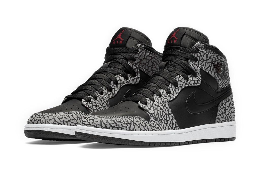 Jordan Brand Brings Its Iconic Elephant Print to the Air Jordan 1