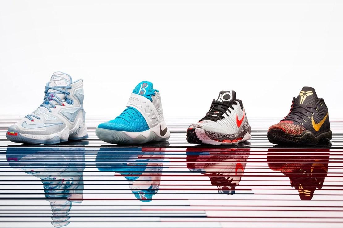 Nike Basketball Unveils Its 2015 Christmas Collection
