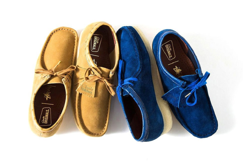 STUSSY X CLARKS ORIGINALS GO AFTER THE WALLABEE FOR FALL/WINTER 2015