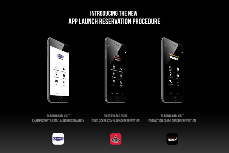 Foot Locker Launches App