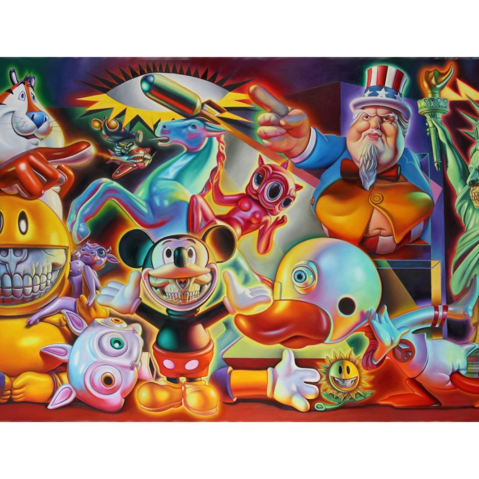 Ron English First Solo Exhibition in NYC