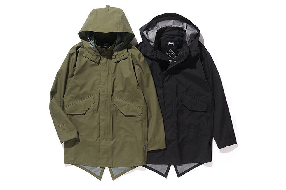 Stüssy x GORE-TEX Join Forces for a Pair of Fishtail Parkas
