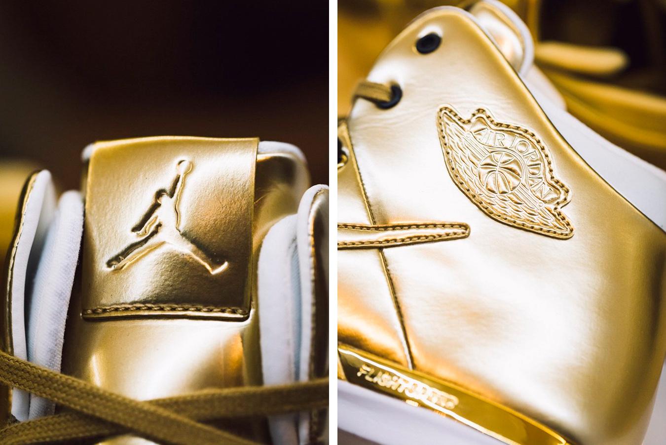 The Air Jordan 31 Gold
