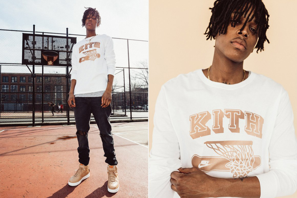 "KITH Celebrates Nike's ""5 Decades of Basketball"" With Apparel Collection"