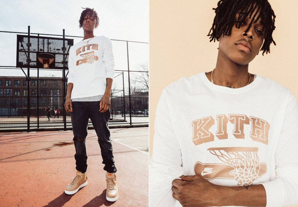 """KITH Celebrates Nike's """"5 Decades of Basketball"""" With Apparel Collection"""