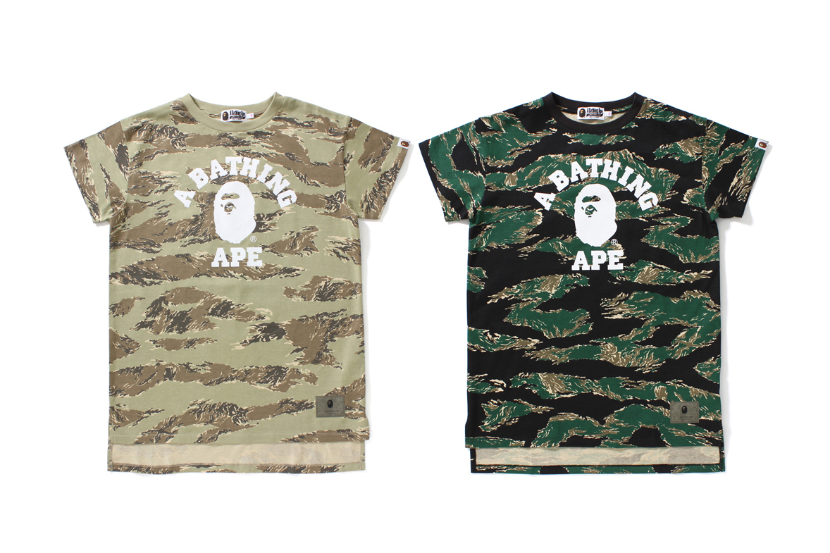 BAPE Tiger Camo Collection