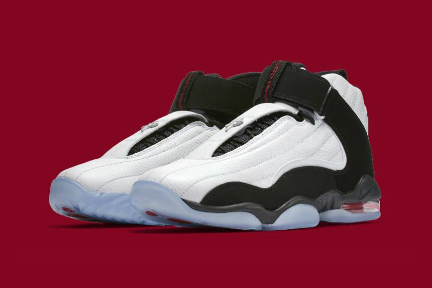 Nike's Air Penny 4 Goes Red