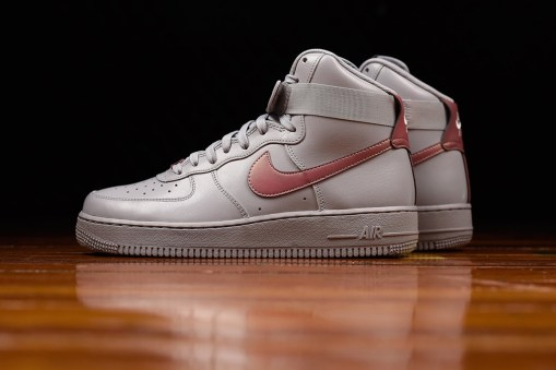 "Nike Air Force 1 High ""Pure Platinum"""