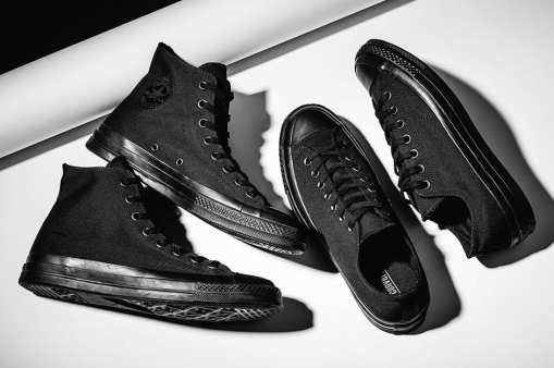 """The Converse Chuck Taylor All Star '70 Goes """"Triple Black"""""""