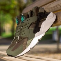 "NIKE AIR HUARACHE ""IRON GREEN"""