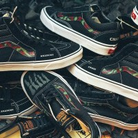 """SBTG x COVER by CROSSOVER Customizes the Vans Old Skool & Sk8-Hi For """"Anarchy and Chaos"""" Collection"""
