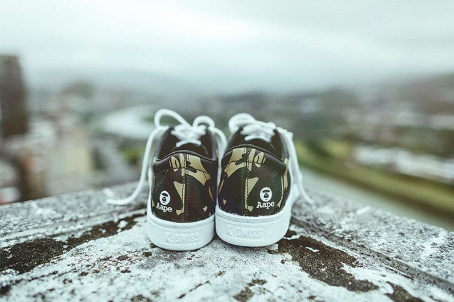 K-SWISS Teams up With AAPE on the Classic '66