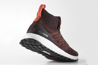 "The adidas UltraBOOST ATR Mid ""Heather Burgundy"""