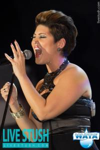 NBC's The Voice Season 5 Winner and Jamaican Power-house Tessanne Chin in her element