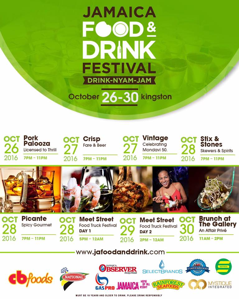 Jamaica Food and Drink Festival 2016