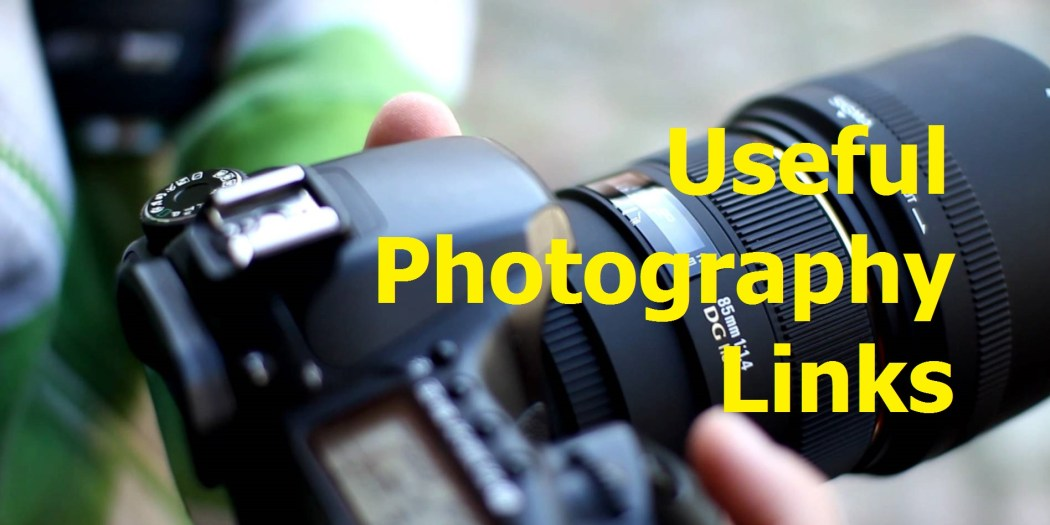 useful photography links