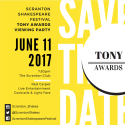 SSF Tony Awards Party