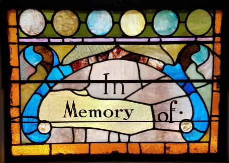 Methodist Church Windows - In Memory of