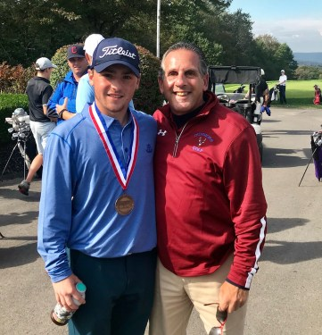 Athlete of the Month - Frankie Ruggiero & Coach Lac