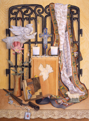 """Watercolor and Wonder: Shrines"" - Mary Billingsley, M.F.A"