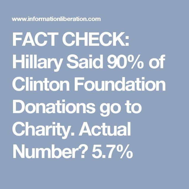 Hillary fact check