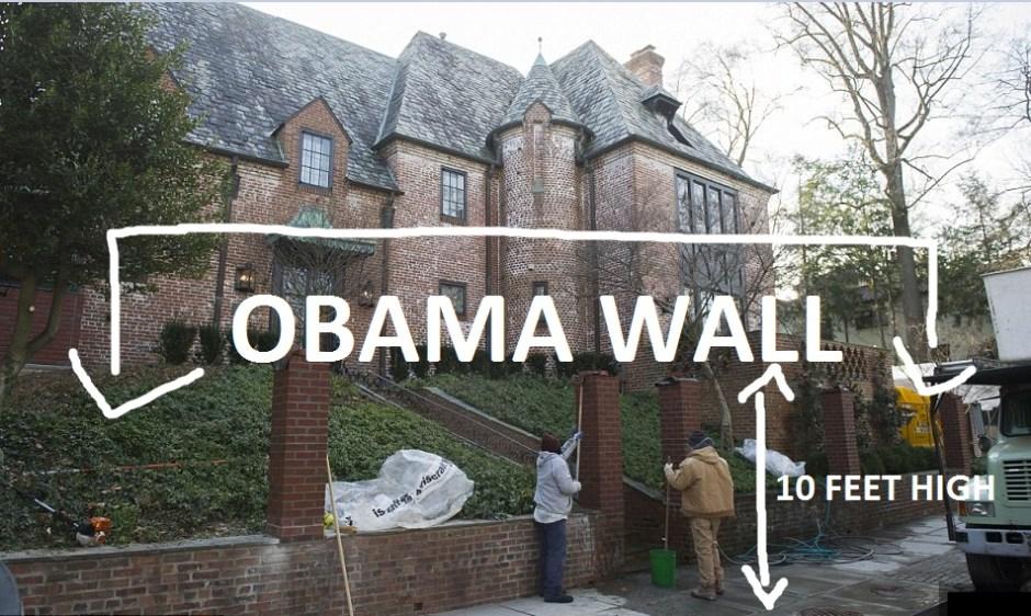 Obama wall