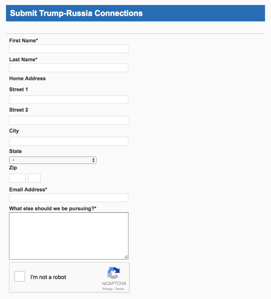 russia submit form