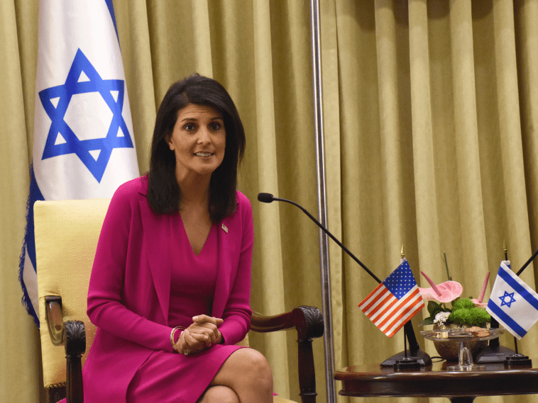 BREAKING: US media claims Nikki Haley is author of Trump's anti-Iran policies