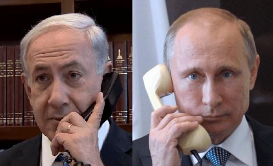 """Képtalálat a következőre: """"putin netanjahu telephon"""""""