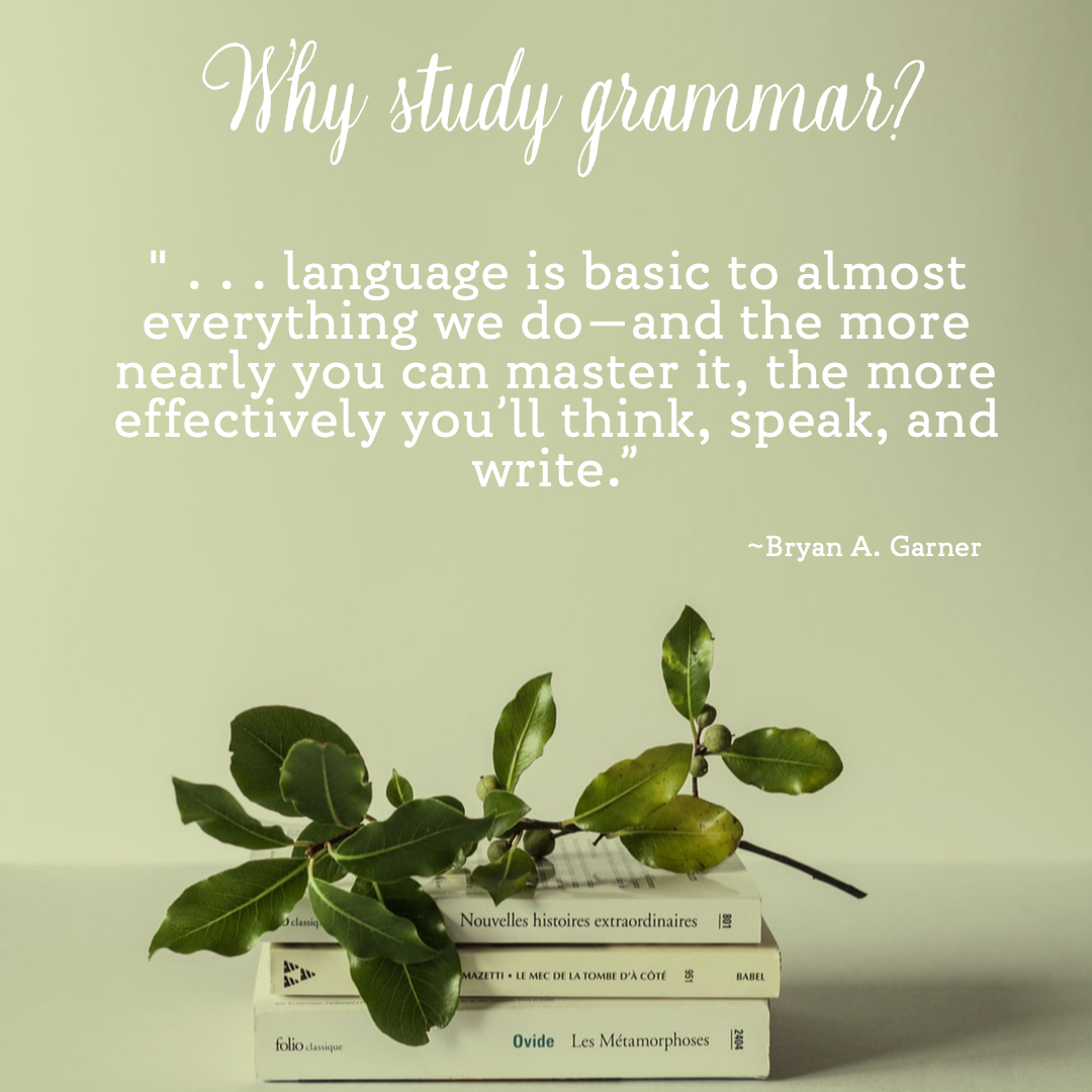 Why Study Grammar? Quote by Bryan A. Garner