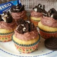 Oreo Cupcakes With Milk Chocolate Frosting