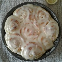 Vanilla Lemon Sweet Rolls