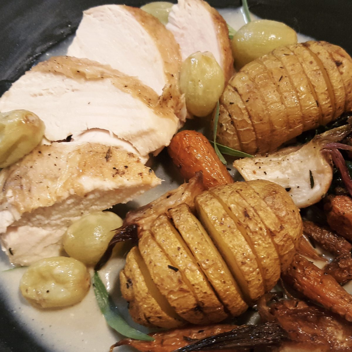 Chicken Veronique Magnificent Pot Roast Chicken Veronique  The Dutch Foodie Design Ideas