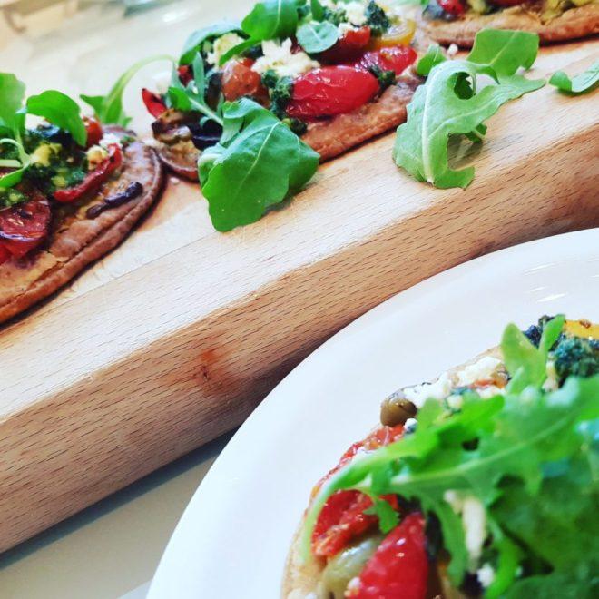 tomato and feta tartlets