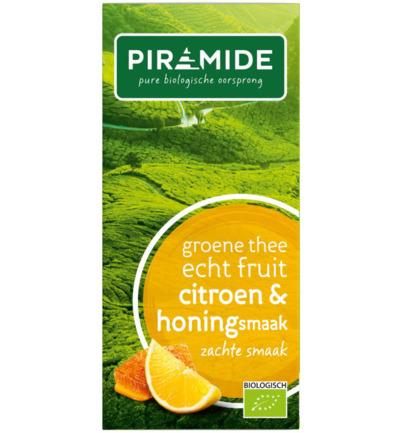 Piramide Groene Thee Citroen En Honing (20st)