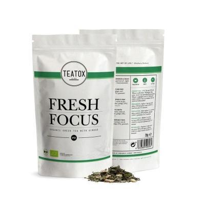 Teatox Bio Thee Fresh focus green tea ginkgo bio refill 70 Gram