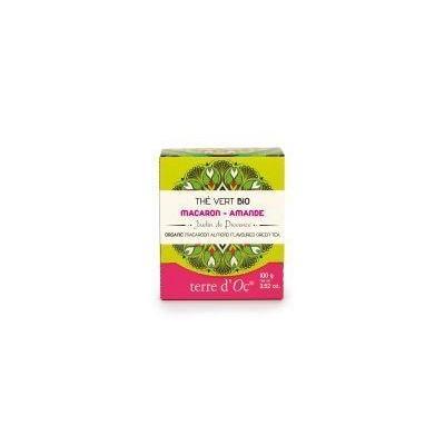 Terre Doc Groene thee macaroon/amandel 100 Gram