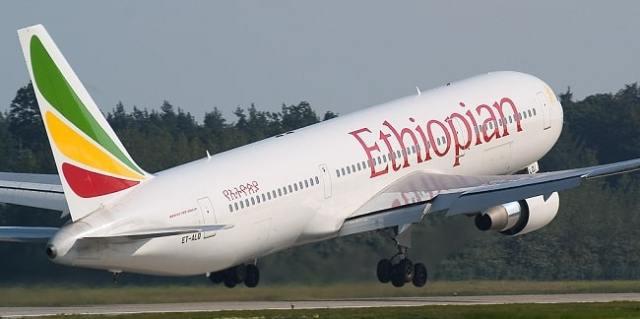Image result for Ethiopian Airlines inaugurates all-female crew flight to Nigeria