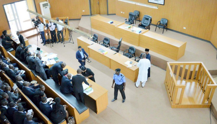 Image result for One-hour sex video tape played in Lagos court