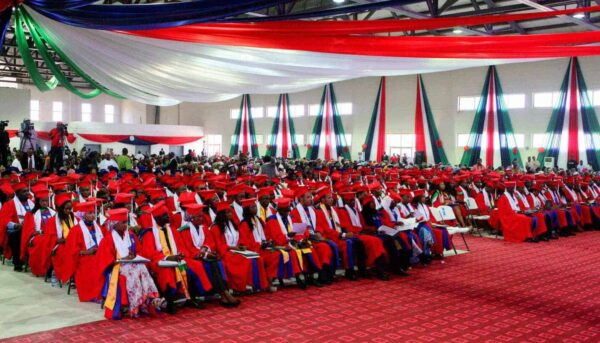 Graduation ceremony at AUN 1 1 1 1 e1564115746552 American University of Nigeria disengages 400 staff