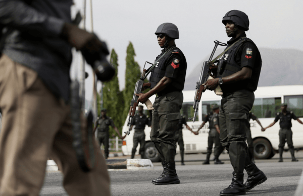 Policemen e1594241715500 Traditional ruler nabbed for kidnapping, admits receiving N3m