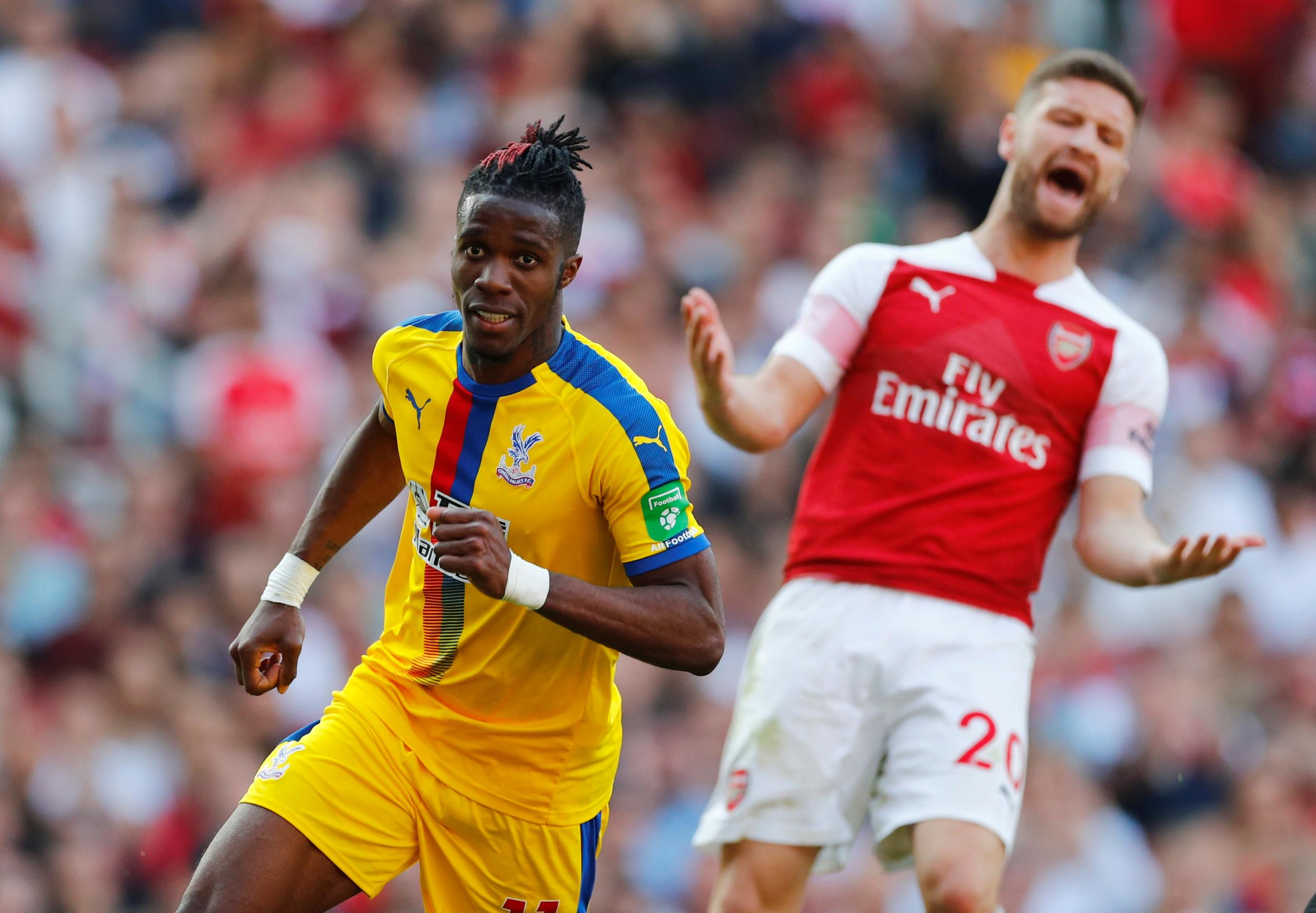 2da060292601 Premier League Statistics  Arsenal 2-3 Crystal Palace - The Eagles Beak