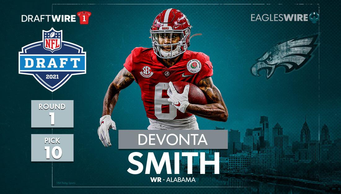 2021 NFL Draft results: Philadelphia Eagles select DeVonta Smith